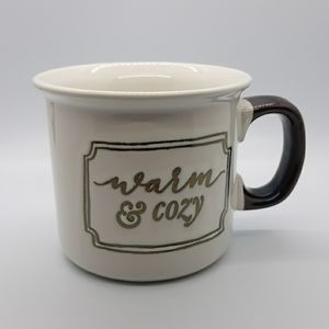 Warm and Cozy Large Coffee Mug